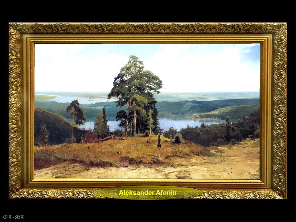 DA - MA Wiktor Zacharowicz Cyganow */ pokazane tu pejzaże Wiktora Cyganowa to grafika komputerowa w formacie 2D