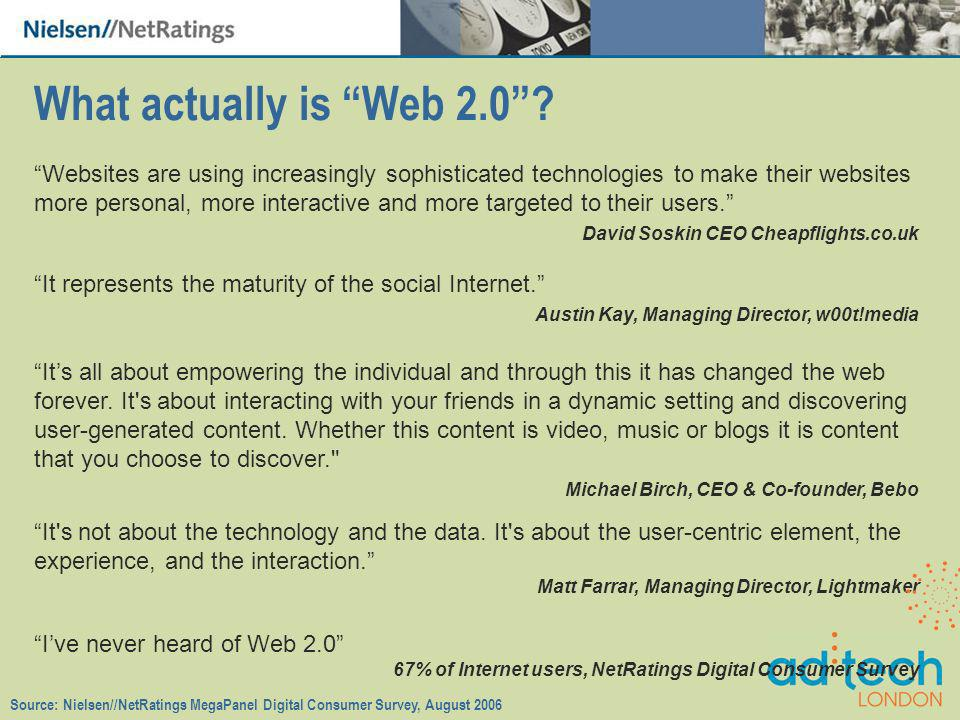 What actually is Web 2.0.