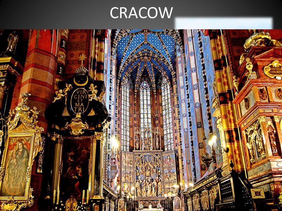 CRACOW Plac Szczepanski Zamek krolewski Wawel Church Mariacki
