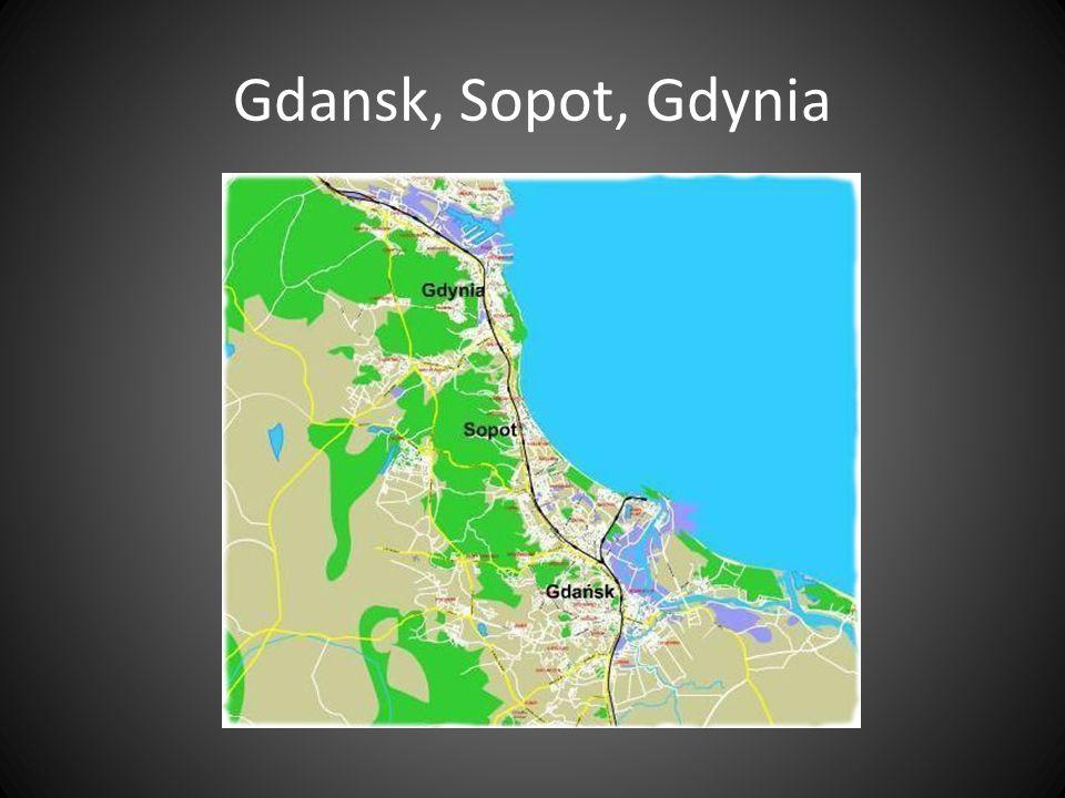 Gdansk, Sopot, Gdynia