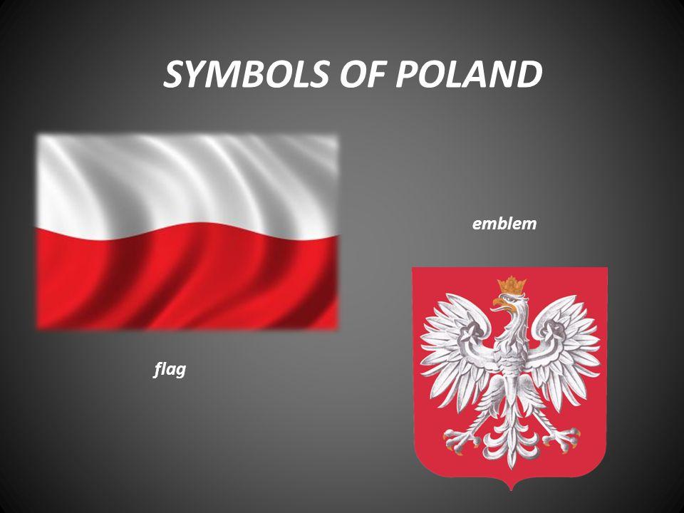 SYMBOLS OF POLAND flag emblem