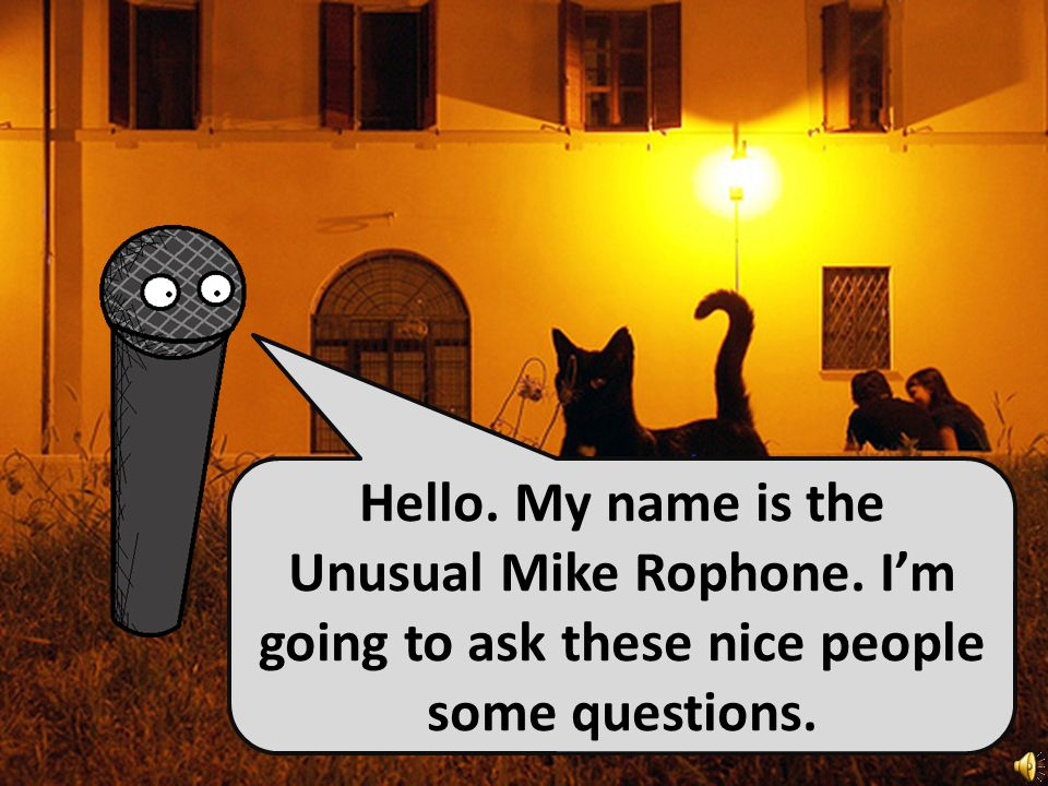 Handy Questions 3 - Where do you live? With the Unusual Mike Rophone