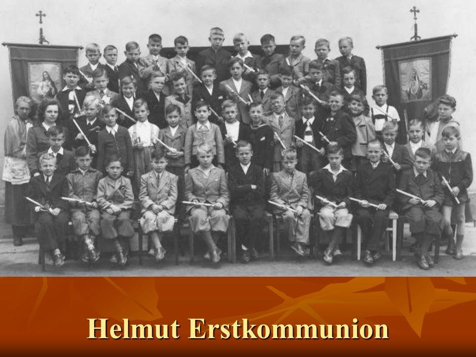 Helmut Erstkommunion