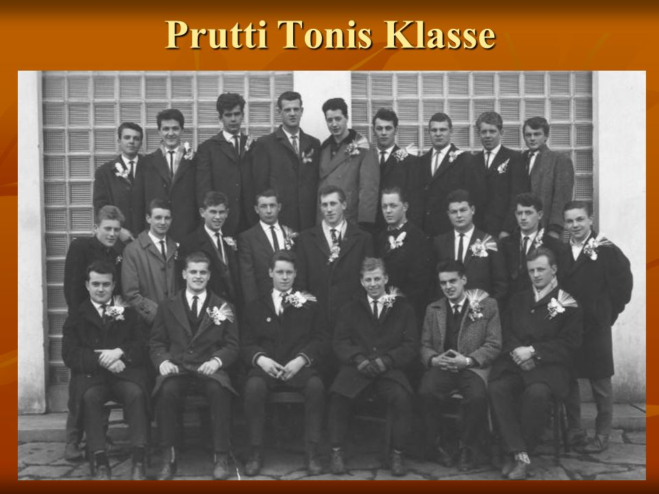 Prutti Tonis Klasse