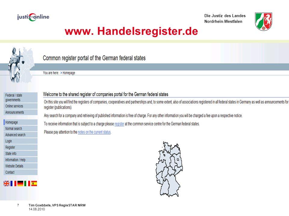 Die Justiz des Landes Nordrhein-Westfalen 7 www.