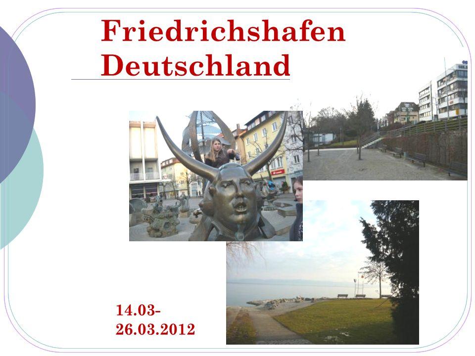 Friedrichshafen Deutschland 14.03- 26.03.2012