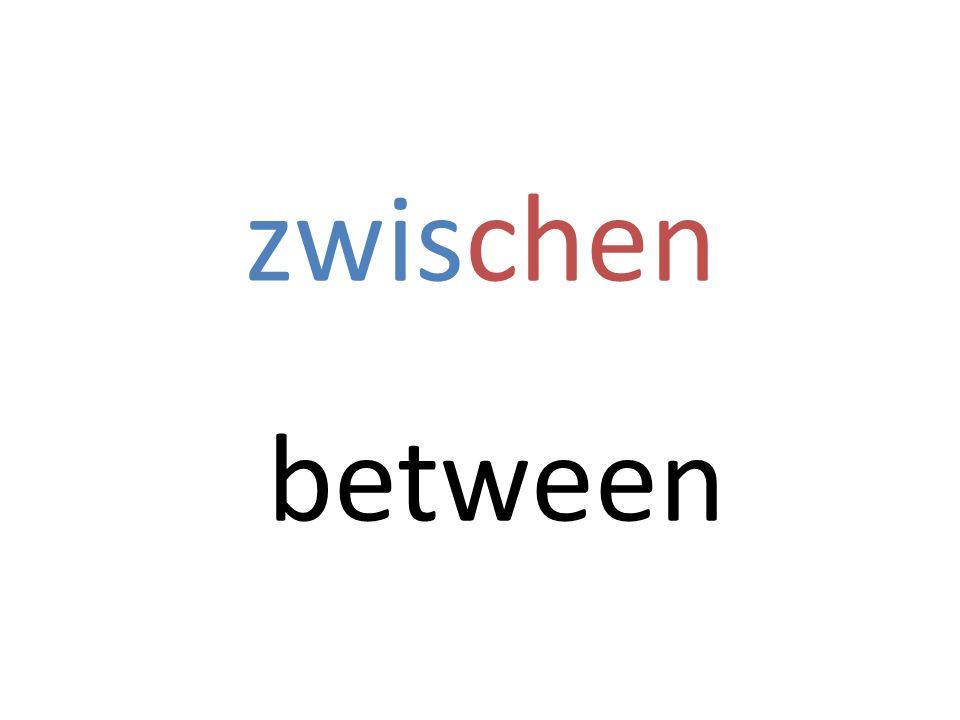 zwischen between