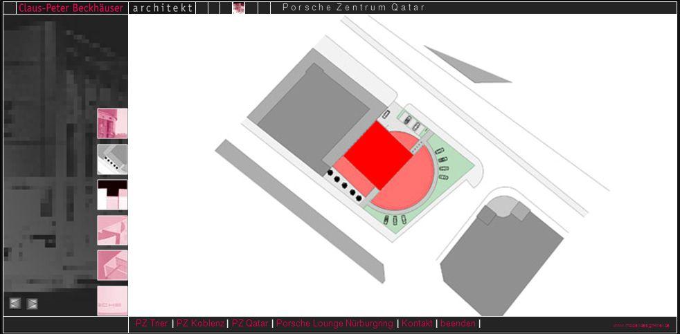 www.modelldesign-trier.de PZ Trier | PZ Koblenz | PZ Qatar | Porsche Lounge Nürburgring | Kontakt | beenden | P o r s c h e Z e n t r u m Q a t a r