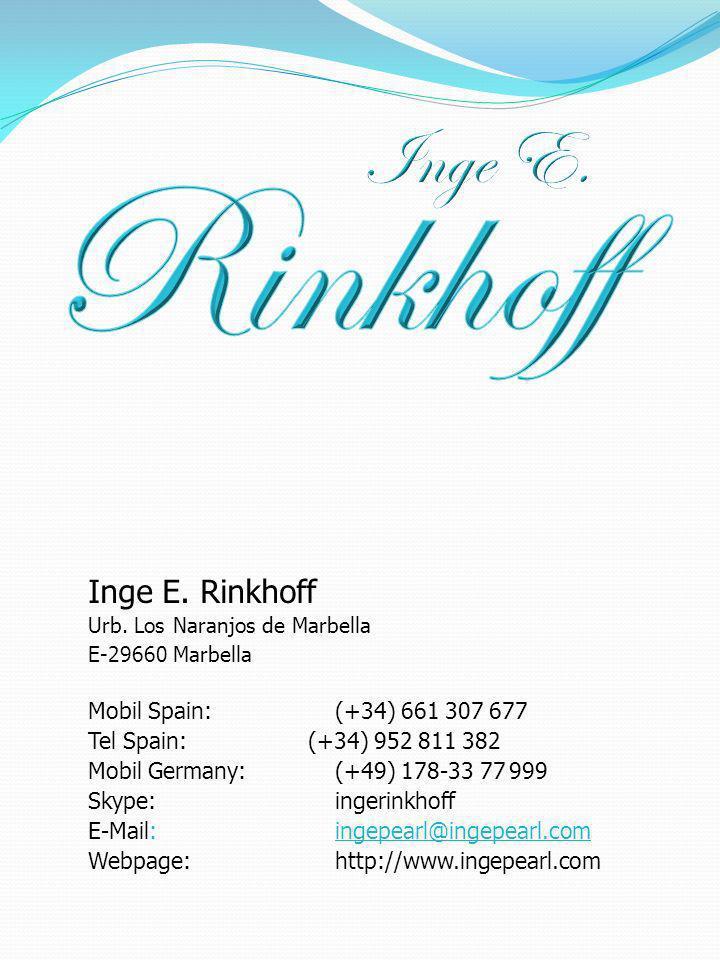 Inge E. Rinkhoff Urb.