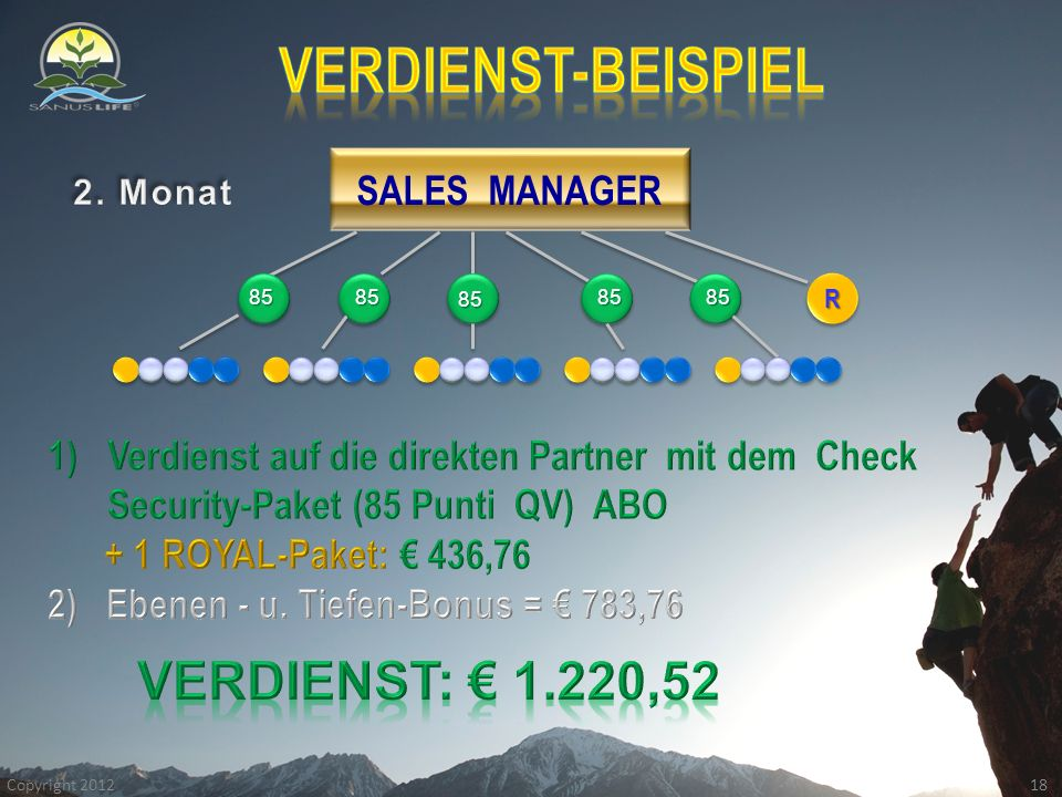 SALES MANAGER RR 18 Copyright 2012