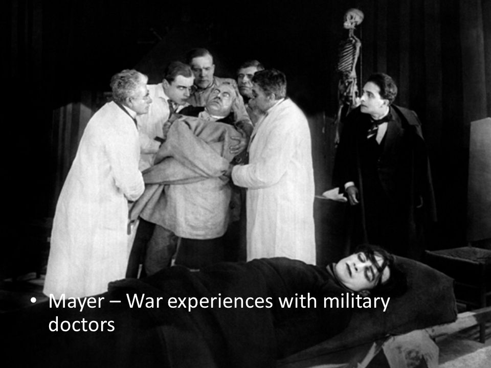 Mayer – War experiences with military doctors
