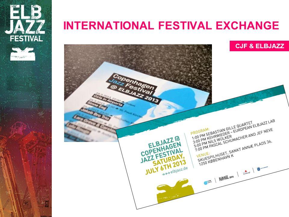 INTERNATIONAL FESTIVAL EXCHANGE CJF & ELBJAZZ
