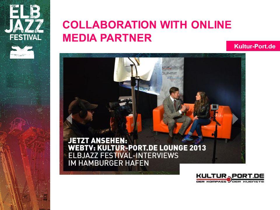 COLLABORATION WITH ONLINE MEDIA PARTNER Kultur-Port.de