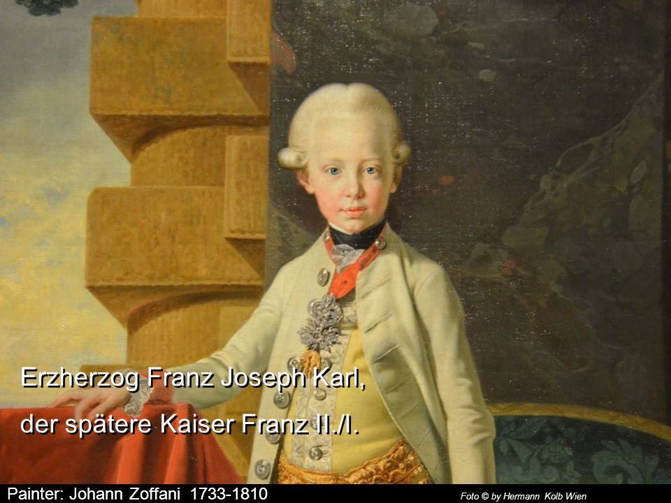 Painter: Pompeo Batoni 1708-1787 Foto © by Hermann Kolb Wien Kaiser Josef II. und Großherzog Pietro Leopoldo von Toskana Kaiser Josef II. und Großherz