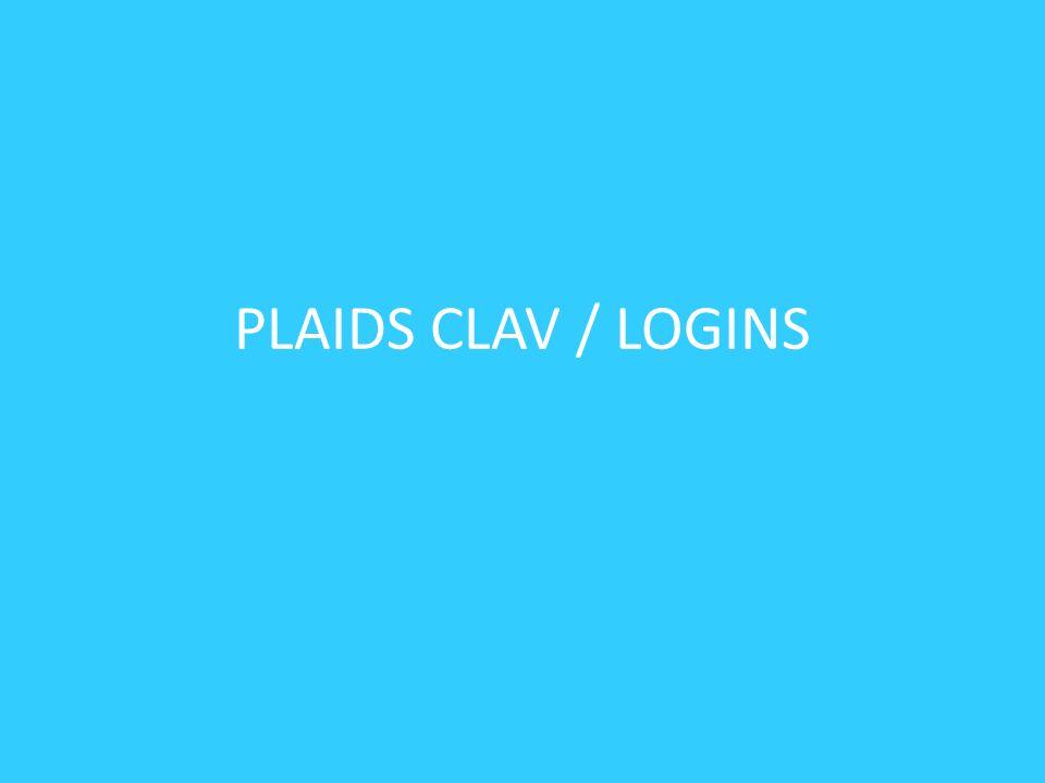 PLAIDS CLAV / LOGINS