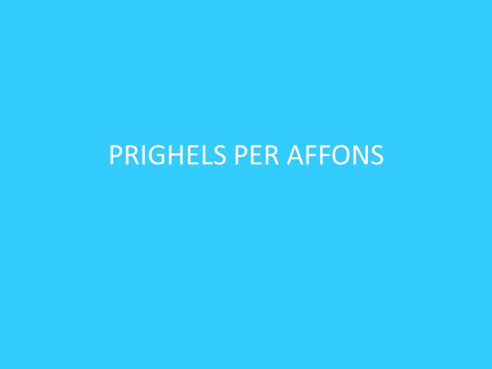 PRIGHELS PER AFFONS