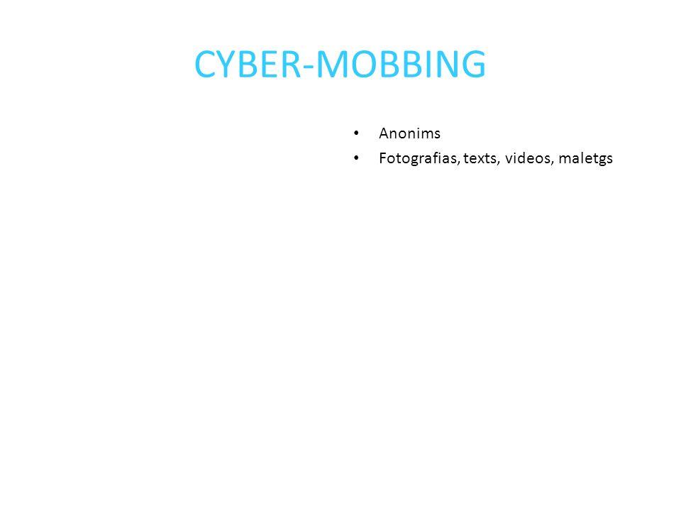 Anonims Fotografias, texts, videos, maletgs