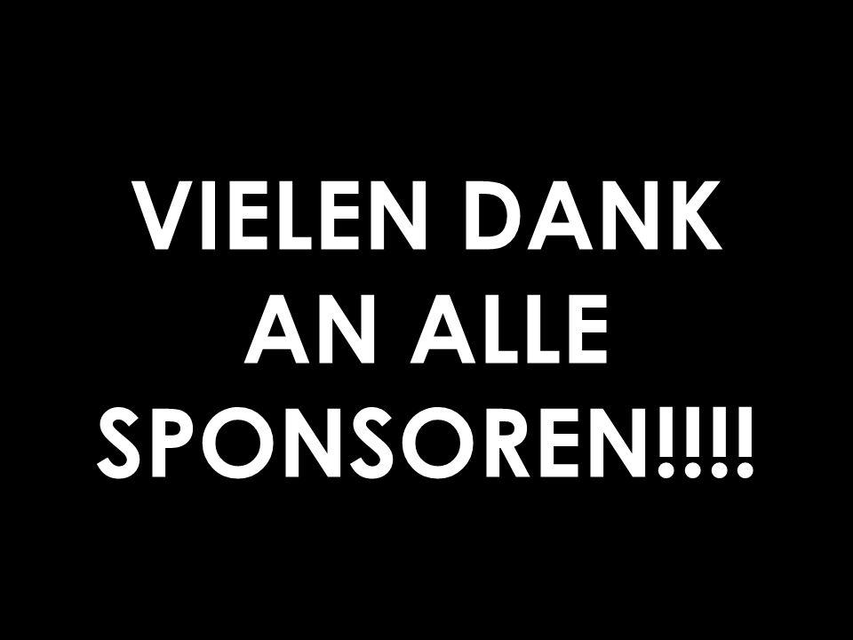 VIELEN DANK AN ALLE SPONSOREN!!!!
