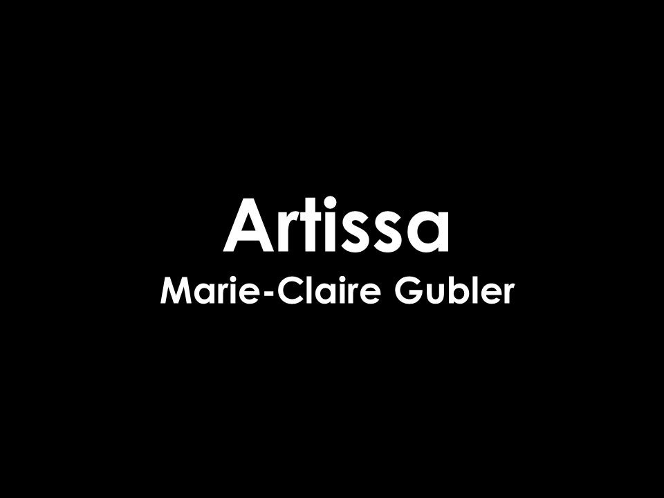 Artissa Marie-Claire Gubler