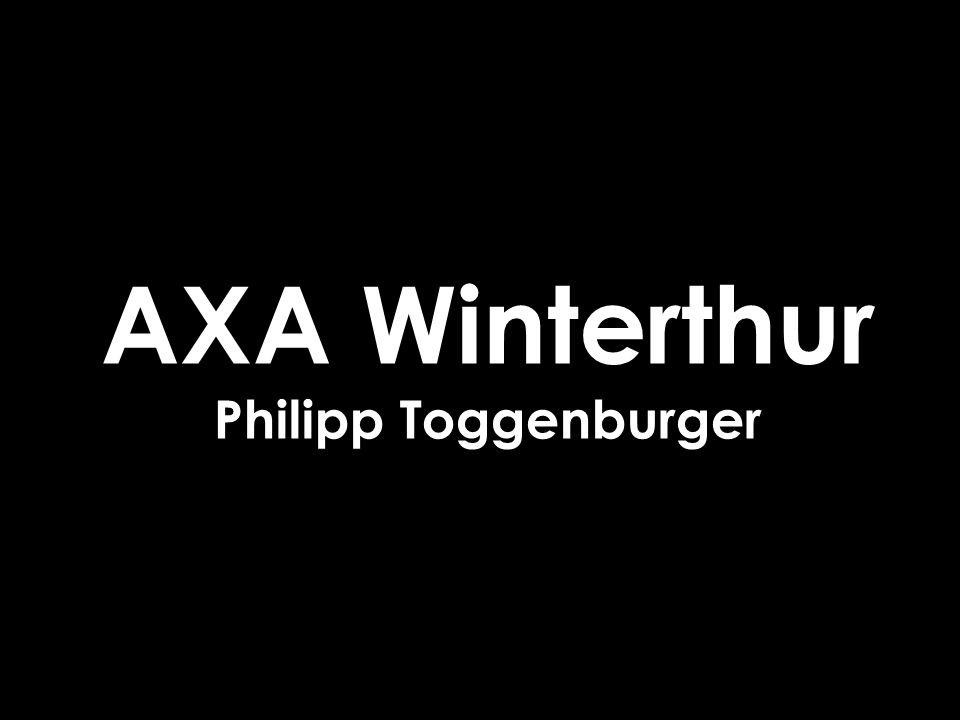AXA Winterthur Philipp Toggenburger
