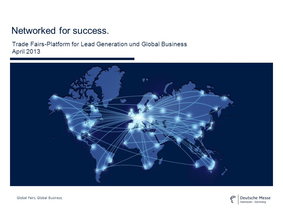 Global Fairs.Global Business. Networked for success.