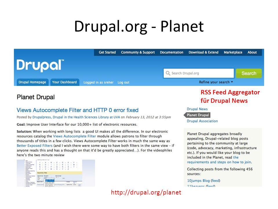 Drupal.org - Planet http://drupal.org/planet RSS Feed Aggregator für Drupal News