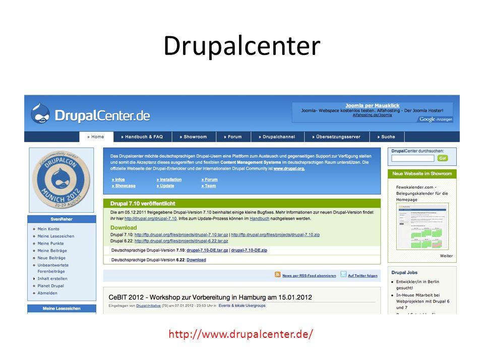 Drupalcenter http://www.drupalcenter.de/