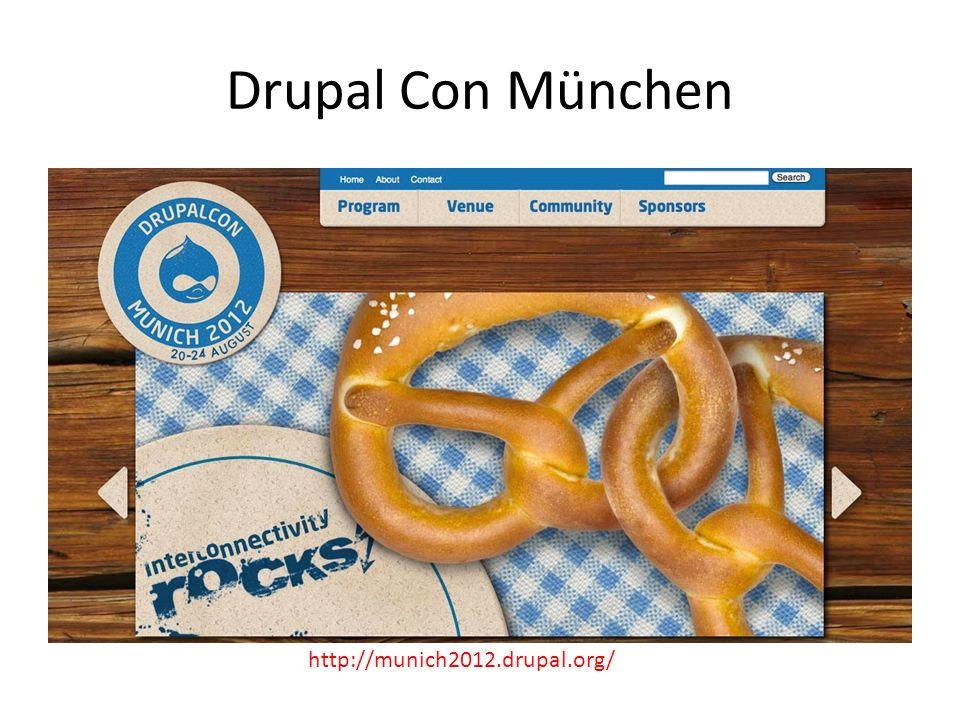 Drupal Con München http://munich2012.drupal.org/