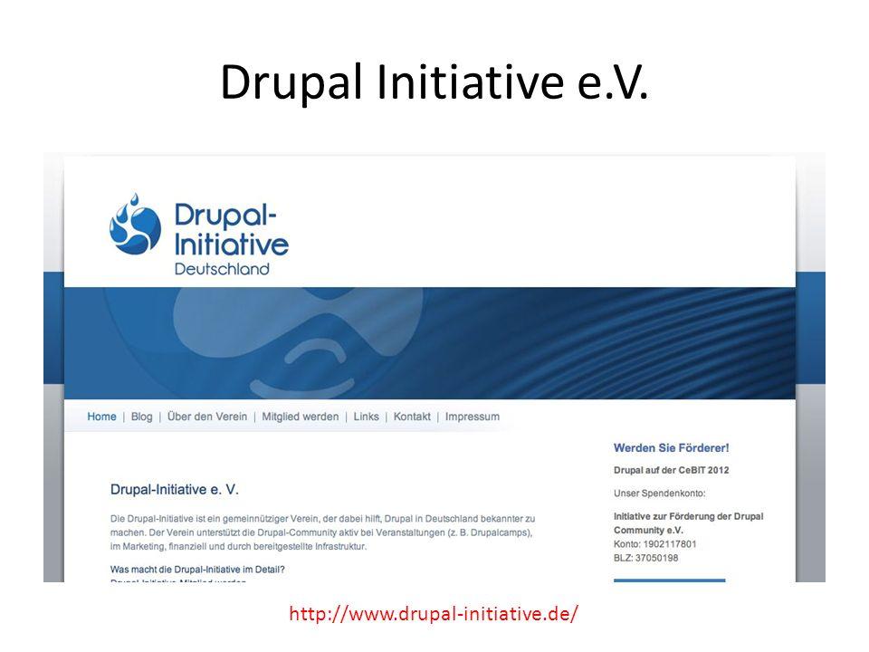 Drupal Initiative e.V. http://www.drupal-initiative.de/