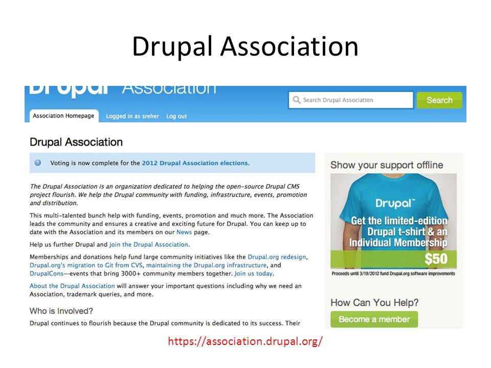 Drupal Association https://association.drupal.org/