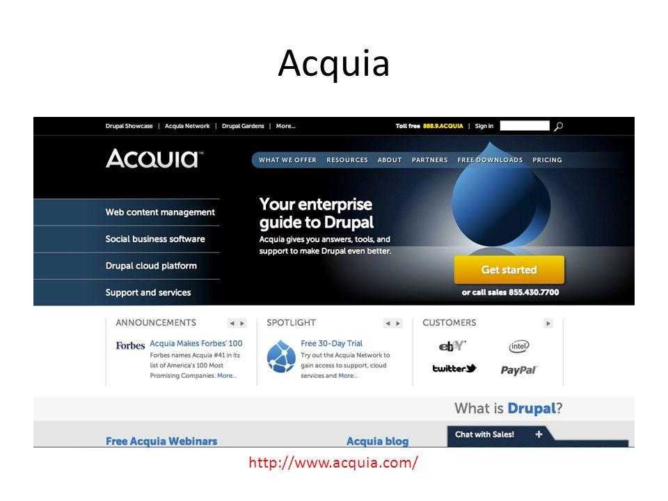 Acquia http://www.acquia.com/