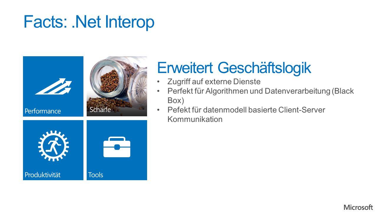 Facts:.Net Interop