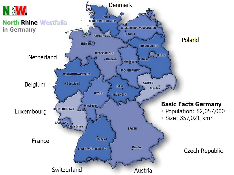hj.gass,ginko An internet based national addiction-prevention Network Basic Facts Germany Population: 82,057,000 Size: 357,021 km² Czech Republic Luxe