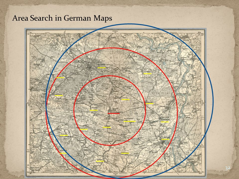 Area Search in German Maps 32