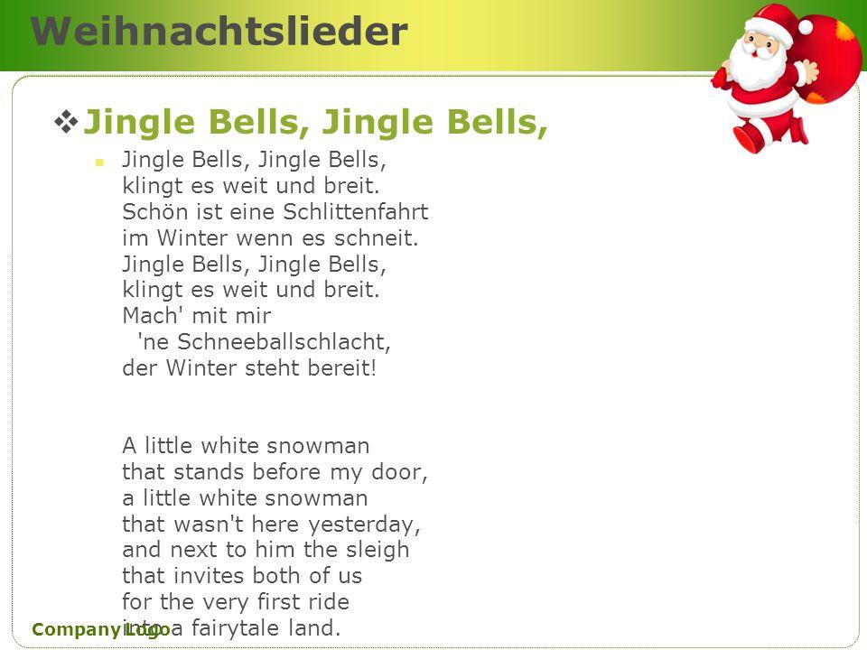 Weihnachtslieder Jingle Bells, Jingle Bells, Jingle Bells, Jingle Bells, klingt es weit und breit. Schön ist eine Schlittenfahrt im Winter wenn es sch