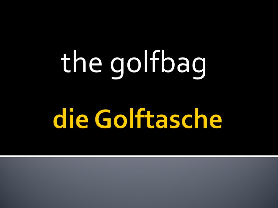 the golfbag