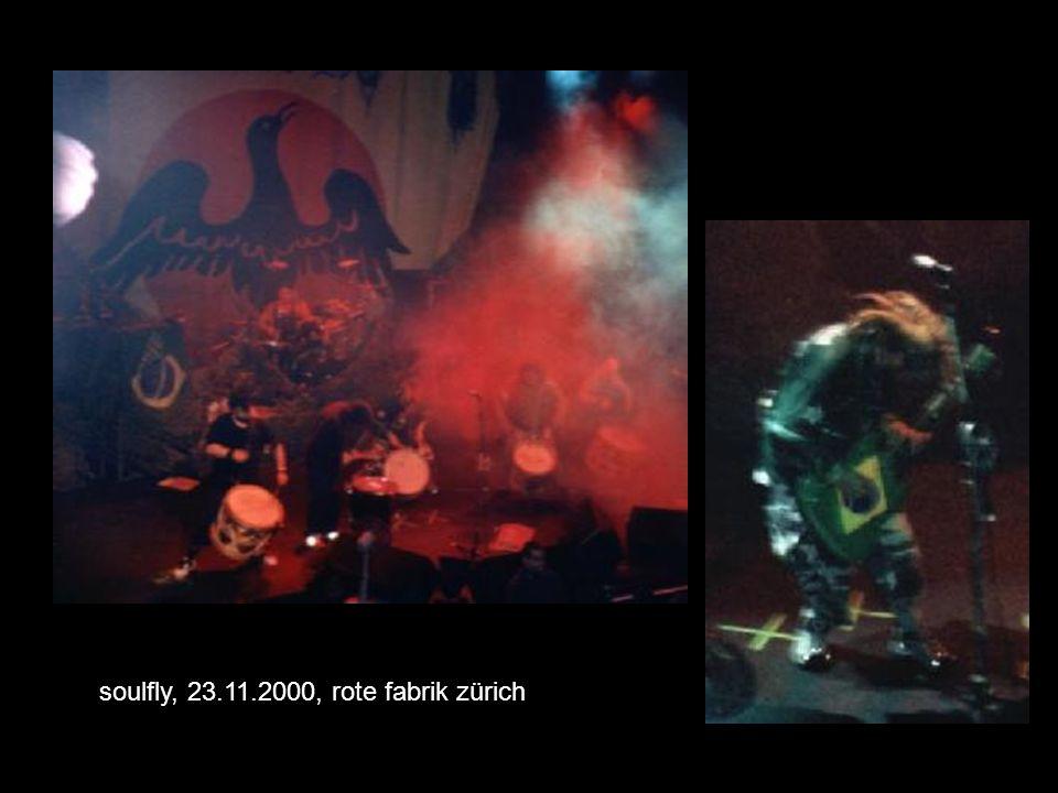 soulfly, 23.11.2000, rote fabrik zürich