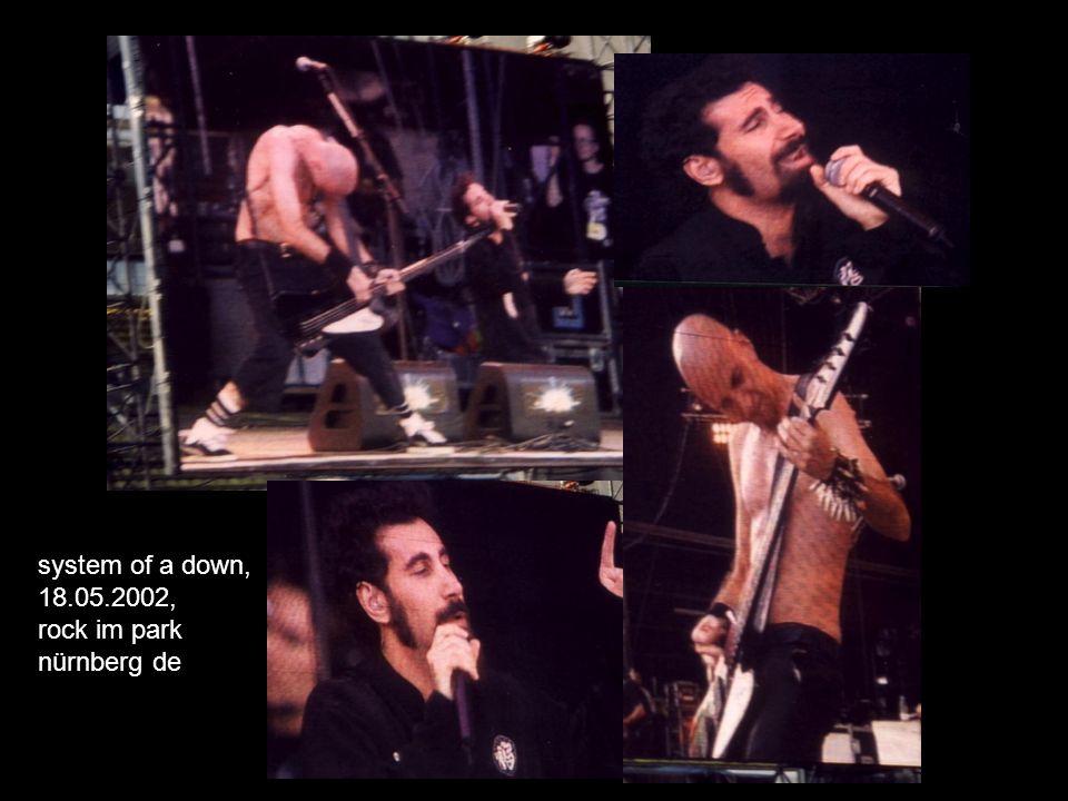 system of a down, 18.05.2002, rock im park nürnberg de