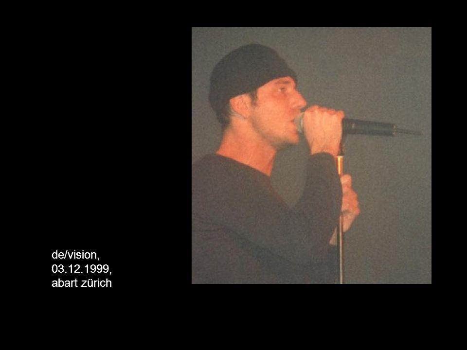 de/vision, 03.12.1999, abart zürich