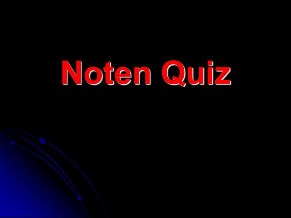 Noten Quiz