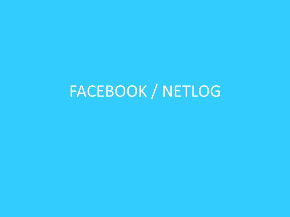 FACEBOOK / NETLOG
