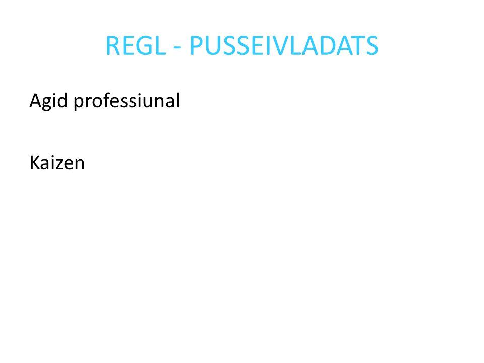 REGL - PUSSEIVLADATS Agid professiunal Kaizen