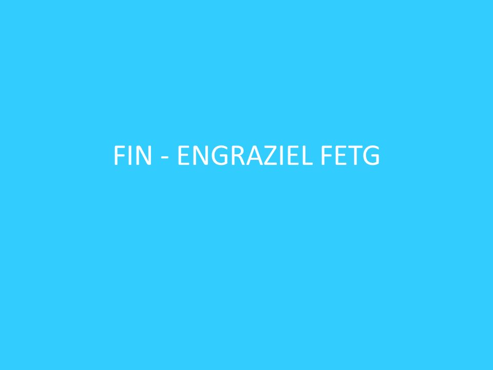 FIN - ENGRAZIEL FETG