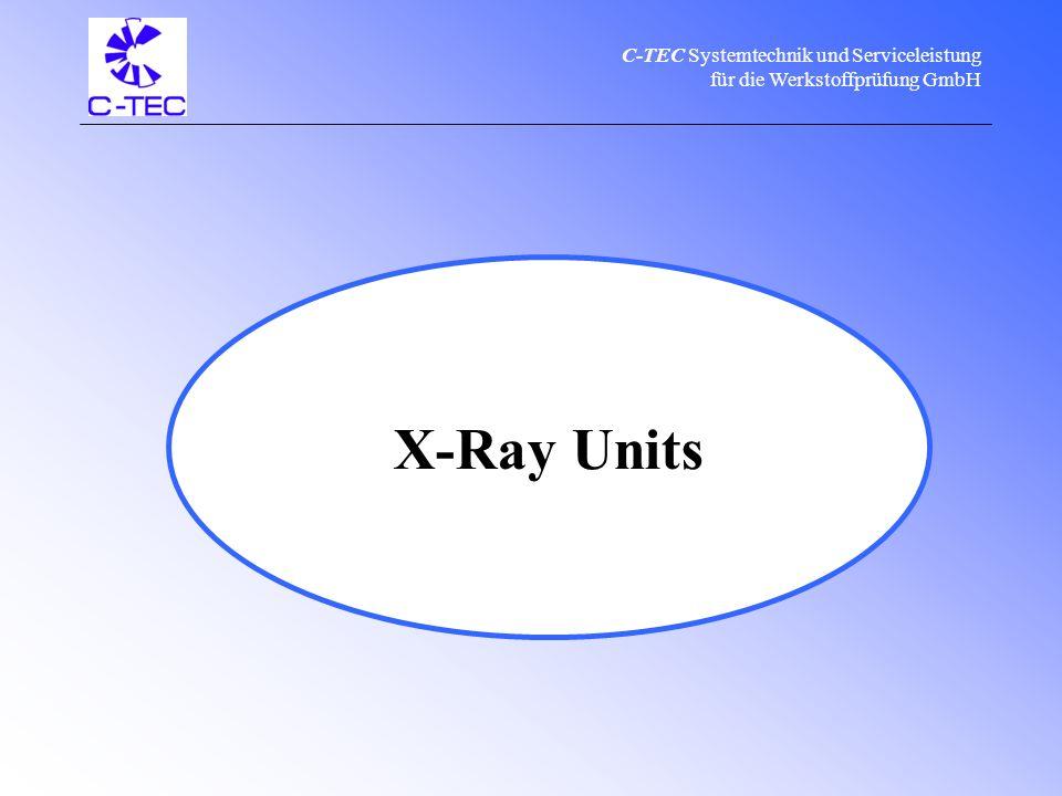 C-TEC Systemtechnik und Serviceleistung für die Werkstoffprüfung GmbH C-TEC product range & service Pipeline CrawlersX-Ray Units Calibration Manufacturing Sale Repair