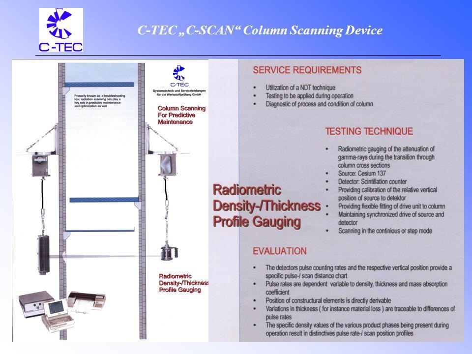 Column Scanning Devices C-TEC Systemtechnik und Serviceleistung für die Werkstoffprüfung GmbH