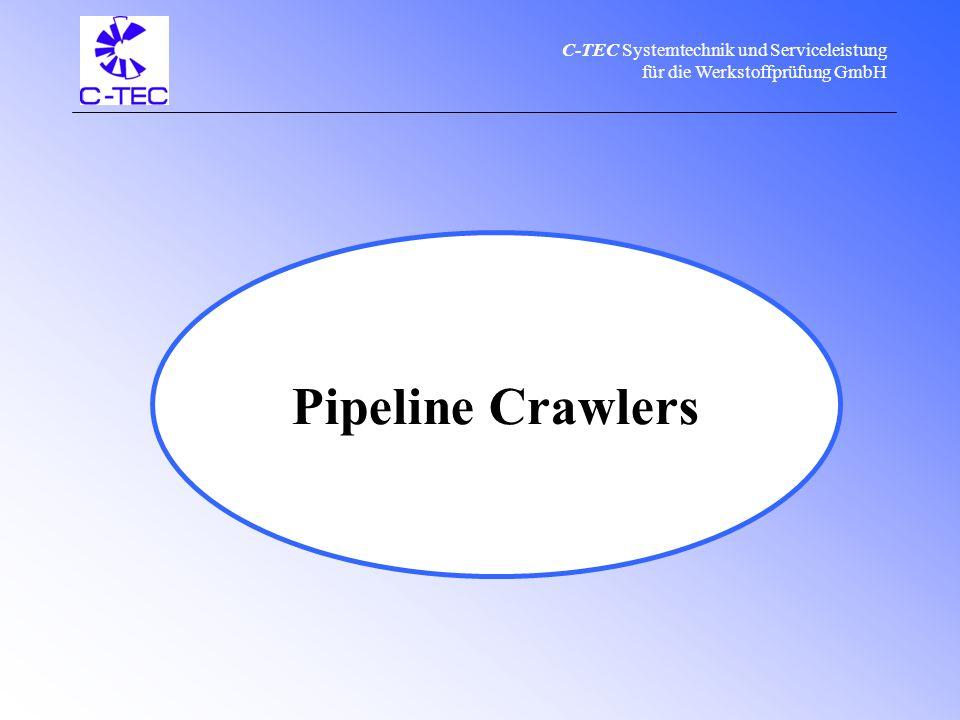 C-TEC Systemtechnik und Serviceleistung für die Werkstoffprüfung GmbH C-TEC product range & service Pipeline Crawlers Calibration Manufacturing Sale Repair