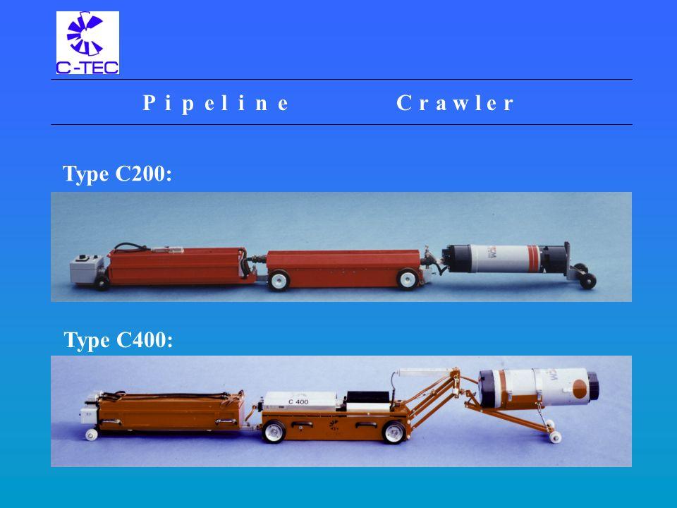 Pipeline Crawlers C-TEC Systemtechnik und Serviceleistung für die Werkstoffprüfung GmbH