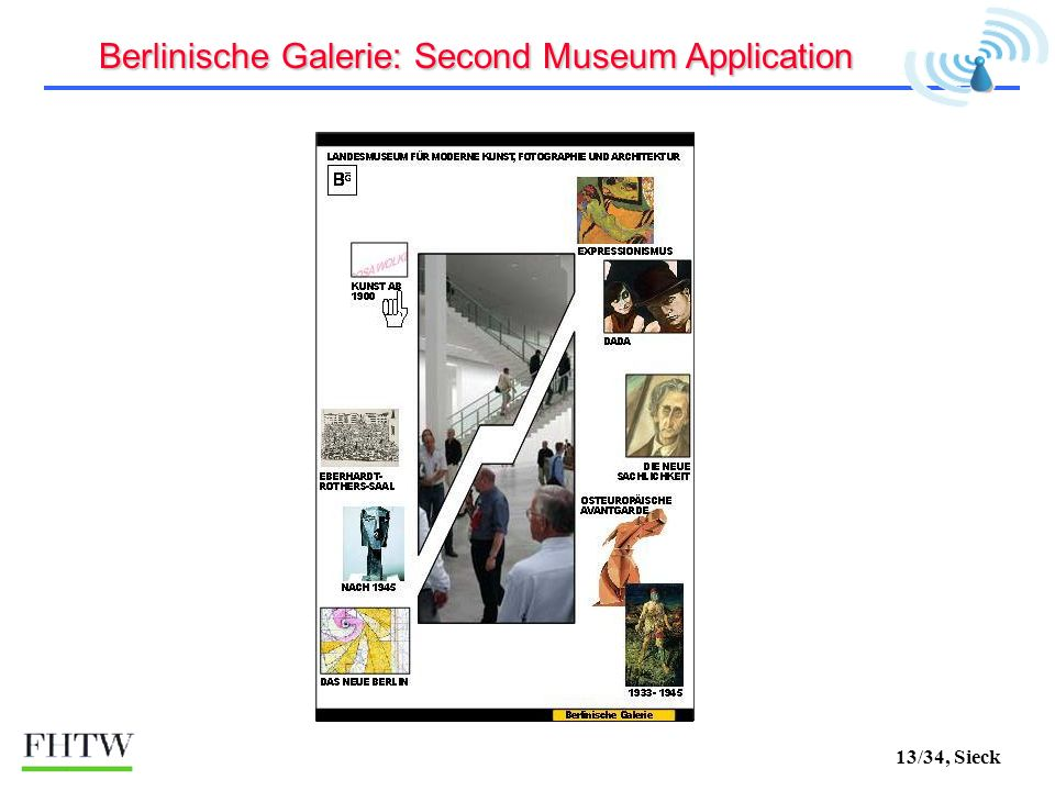 13/34, Sieck Berlinische Galerie: Second Museum Application
