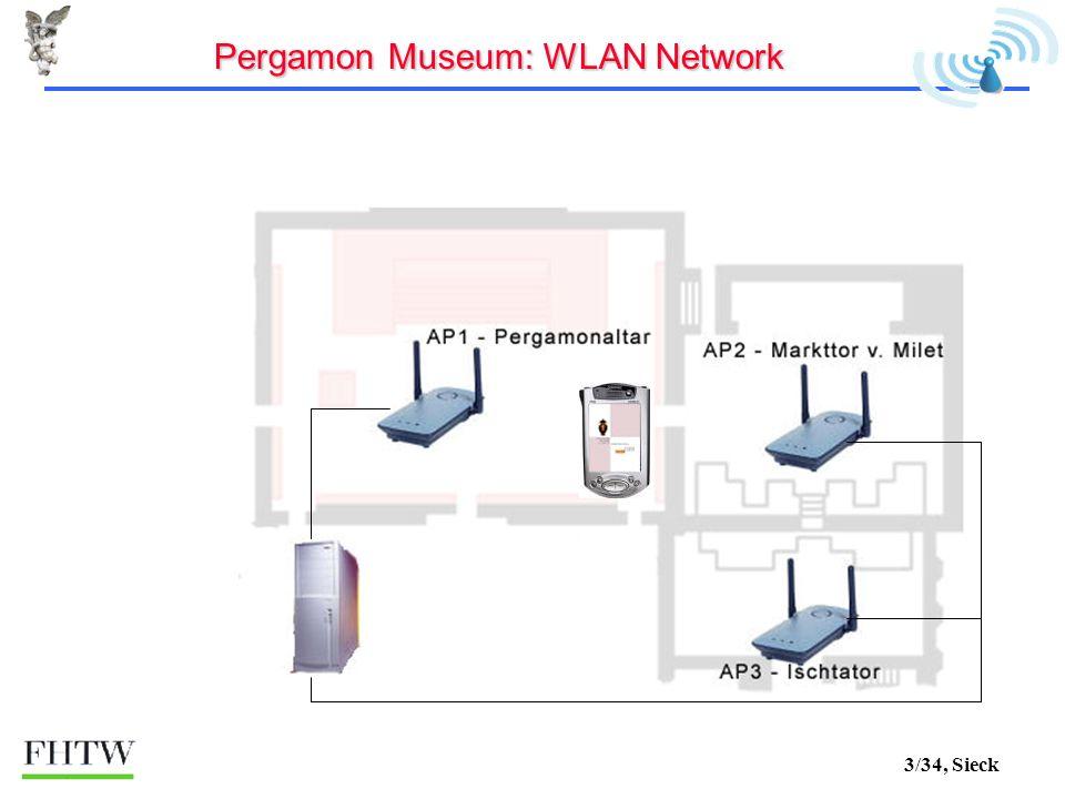 3/34, Sieck Pergamon Museum: WLAN Network