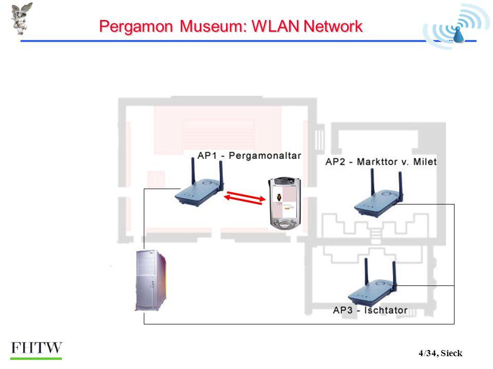 4/34, Sieck Pergamon Museum: WLAN Network